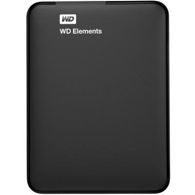 Western Digital Elements External Hard Drive - 500GB