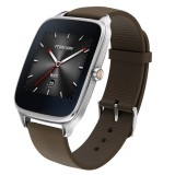 Asus Zenwatch 2 WI501Q With Brown Rubber Strap